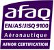 Certification mécanique de précision EN9100